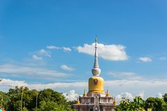 Buddha's relics in Thailand, Name is phra tard na dun Royalty Free Stock Photos