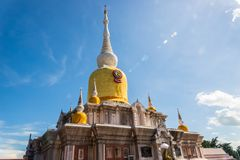 Buddha's relics in Thailand, Name is phra tard na dun Royalty Free Stock Images