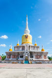 Buddha's relics in Thailand, Name is phra tard na dun Stock Images