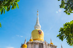 Buddha's relics in Thailand, Name is phra tard na dun Stock Photo