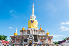 Buddha's relics in Thailand, Name is phra tard na dun Royalty Free Stock Photo