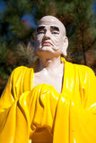 The Buddha's sculpture in Vietnamese monastery. The Buddha's sculpture Vietnamese monastery Stock Images