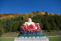 The Buddha's sculpture in Vietnamese monastery. The Buddha's sculpture Vietnamese monastery Royalty Free Stock Photo
