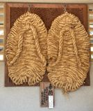 The Buddha's slippers Royalty Free Stock Images