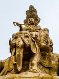 Buddha's statue. On the summit of Mt. Emei (Sichuan, China Stock Photos