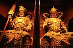Buddha's warrior attendant Stock Photos