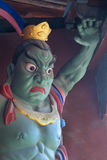 Buddha's warrior attendant Stock Photography