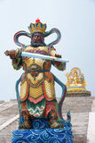 Buddha's warrior attendant Stock Images