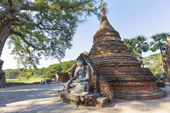 Buddha in sagaing , Mandalay Royalty Free Stock Photo