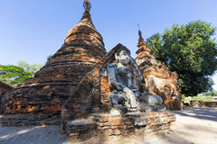 Buddha in sagaing , Mandalay Stock Photo