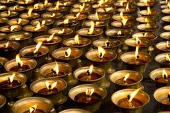 Buddha-Schmieröl-Lampe Lizenzfreies Stockfoto