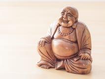 Buddha-Schnitzen Lizenzfreie Stockfotografie