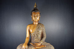 Buddha-Schwarzes 3 Lizenzfreies Stockbild