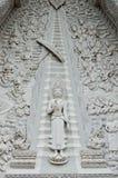 Buddha in Schwarzweiss Lizenzfreies Stockbild