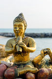 Buddha sculpture Royalty Free Stock Photo