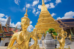 Buddha sculpture Grand palace also calles Wat Phra Kaew Royalty Free Stock Photography