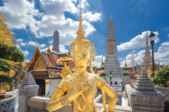 Buddha sculpture Grand palace also calles Wat Phra Kaew Royalty Free Stock Image