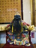 Buddha sculpture,Guan Yu Stock Photography
