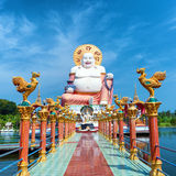Buddha sculpture in koh Samui Stock Photo