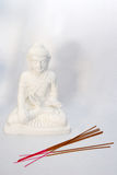 Buddha. Sculpture of a meditating Buddha Royalty Free Stock Photography