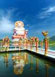 Buddha sculpture in Thailand Royalty Free Stock Photography