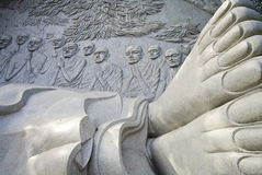Buddha sculpture in vietnam Stock Photos