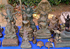 Buddha sculptures Royalty Free Stock Photos