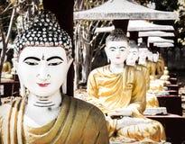 Buddha sculptures Stock Photography