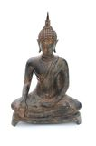 The Buddha seated Royalty Free Stock Images