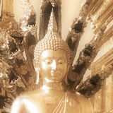 Buddha in sepia Royalty Free Stock Photo
