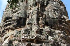 Buddha ser 4 sidor av världen arkivbild