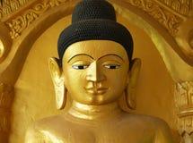 Buddha Shite-thaung tempel, Mrauk U, Rakhine, Burma (Myanmar) Royaltyfri Foto