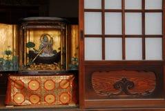 Buddha shrine door Royalty Free Stock Photos
