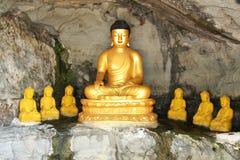Buddha shrine in Guam. Buddha statues in Talafofo, Guam Stock Photos