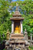 Buddha Shrine Royalty Free Stock Photo