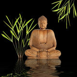 Buddha Silence Royalty Free Stock Photo