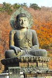 Buddha in the Sinheungsa Temple at Seoraksan National Park, Sout Royalty Free Stock Image