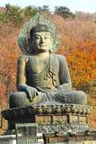 Buddha in the Sinheungsa Temple at Seoraksan National Park, Sout Royalty Free Stock Image