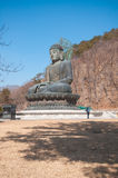Buddha in the Sinheungsa Temple. Royalty Free Stock Photo