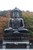 Buddha in the Sinheungsa Temple at Seoraksan National Park Stock Photography