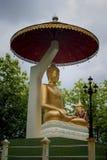 Buddha sit statue Stock Image