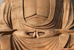 buddha sitting Royaltyfria Bilder