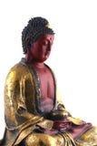 buddha sitting arkivfoto