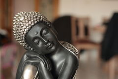 Buddha sitting decoration stock images