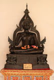 The buddha sitting. In the style of the Ayutthaya period stock photography