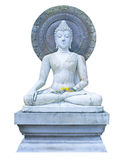Buddha sitting on the tower Royalty Free Stock Photo