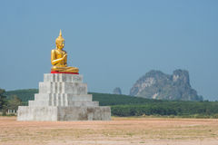 Buddha sitzen Statue Lizenzfreie Stockfotografie