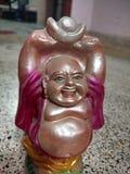 buddha skratta Royaltyfri Foto