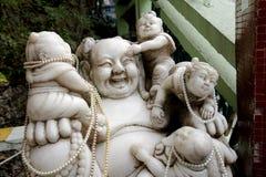 buddha skratta Royaltyfri Bild
