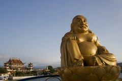 buddha skratta Royaltyfria Foton